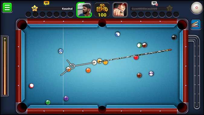8 ball pool app screenshot