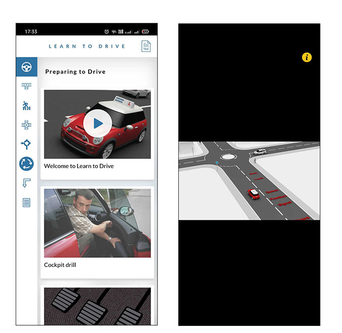 Driving Learning Apps