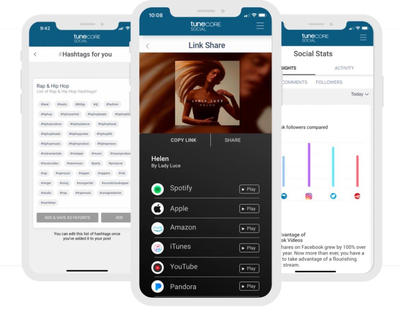 tunecore apps