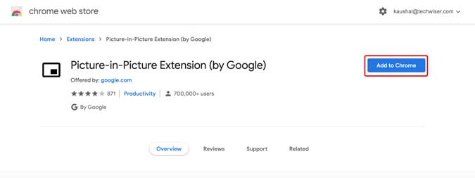 download the chrome extension