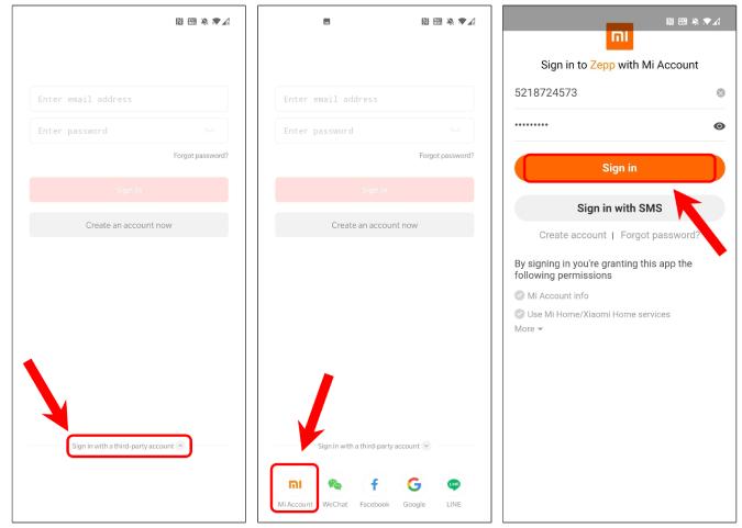 zepp-app-login