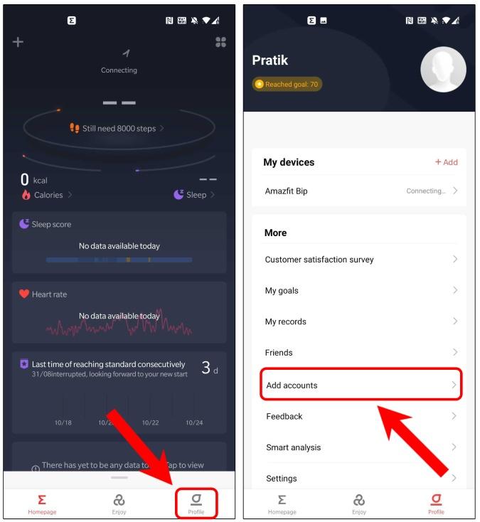 add-accounts-zepp-app