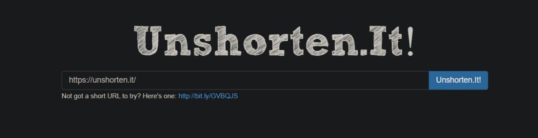unshorten links in browser