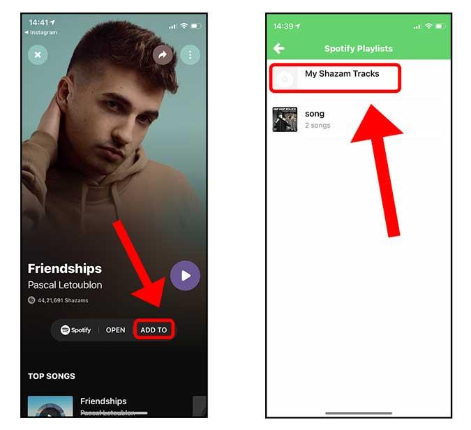 add to a spotify playlist