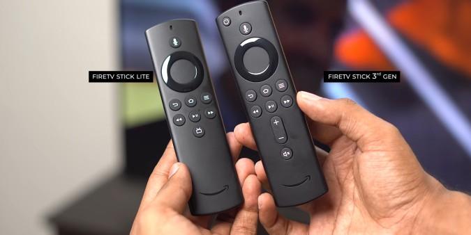 firestick vs firestick lite remote