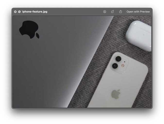 quicklook app screenshot