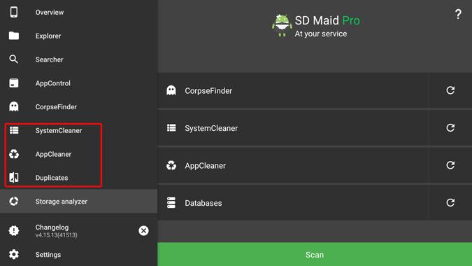 sdmaid pro features