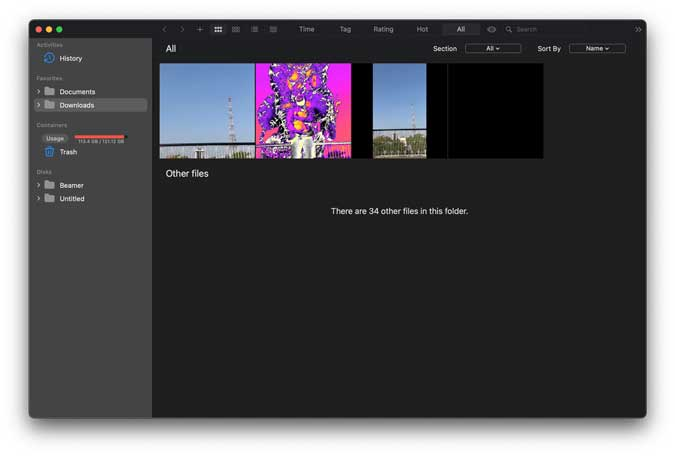 hermit crab lets you organize videos