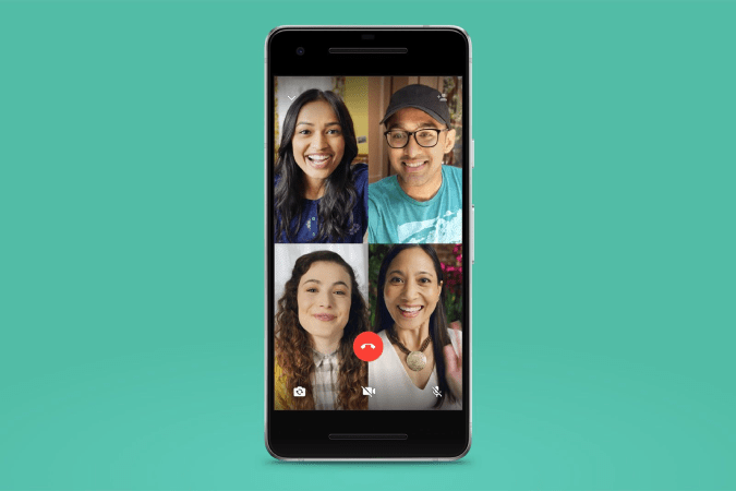 Video calling to entire group with a click