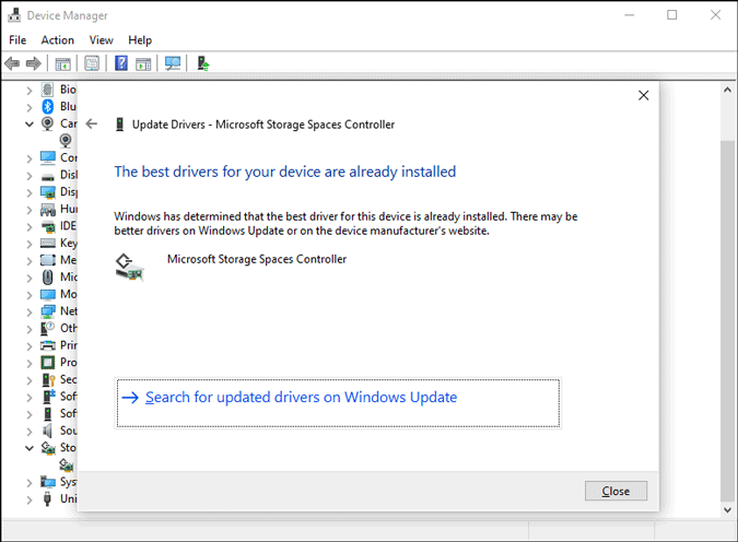 storage controller for ssd not detected on windows 10