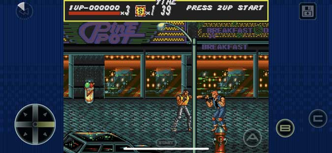 streets of rage gameplay ios