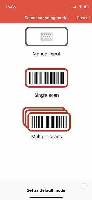 barcode to pc iphone app