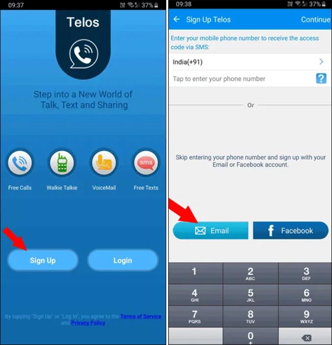 telos app