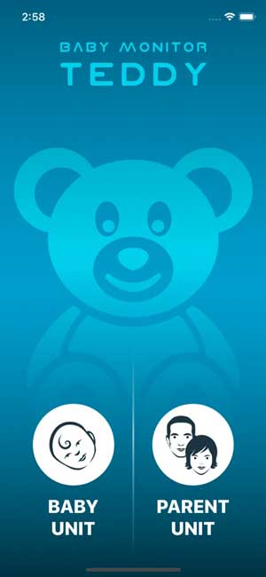Baby monitor- convert any iPhone into a nanny cam