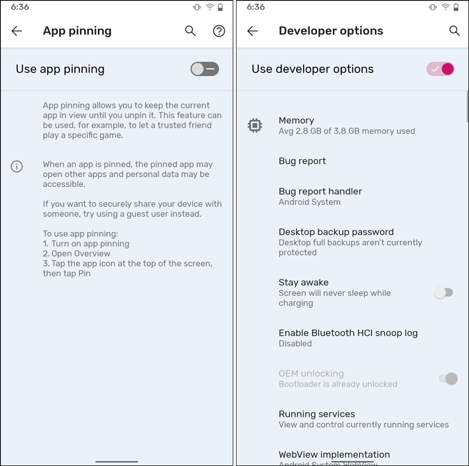 android 12 new toggle design