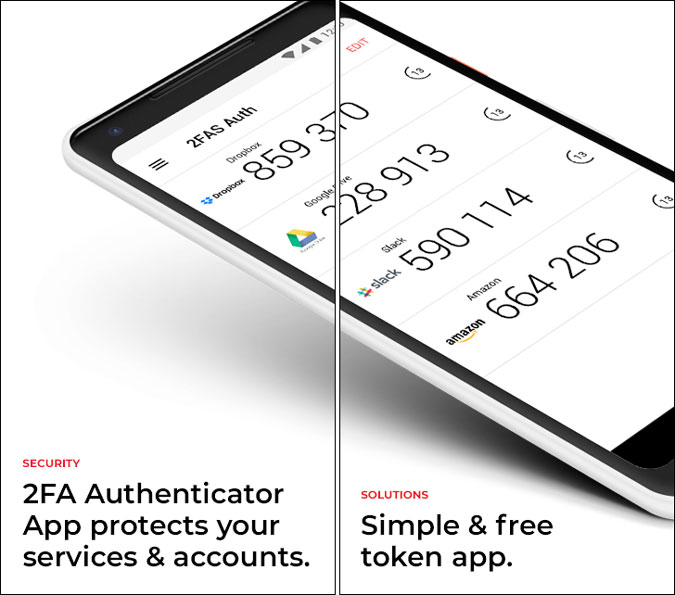 2fa authenticator for android settings