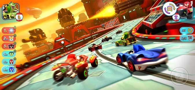 sonic racing on Apple Arcade- game for kids
