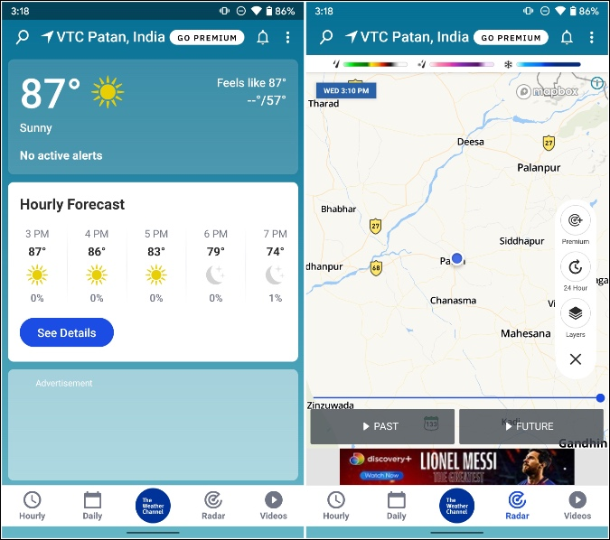 the weather channel for samsung