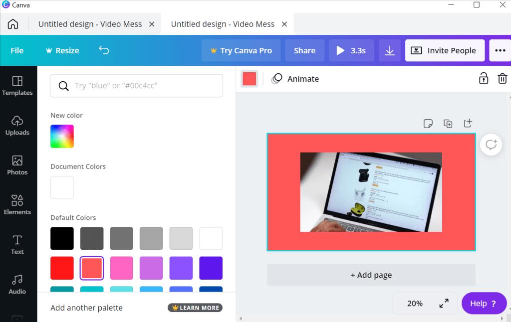 Add border to video on Mac