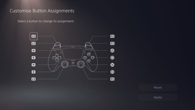 remap and customize controller buttons on ps5