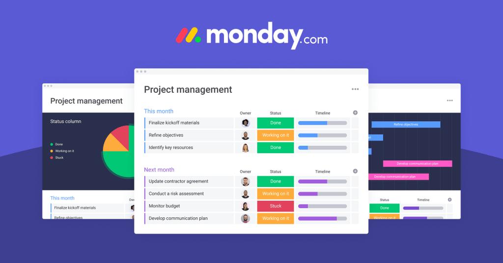 Monday.com work management tool