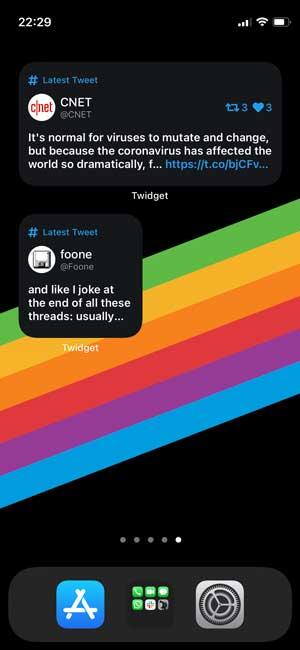 twidget iphone twitter client