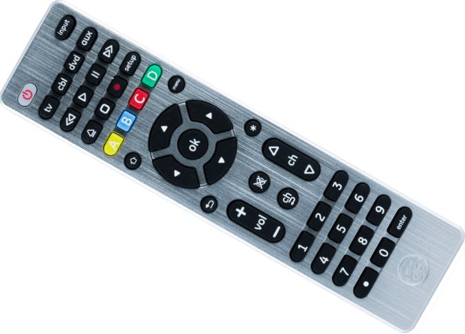 GE Backlit Universal Remote for roku