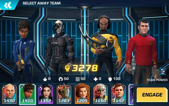 start-trek- go on away missions and fight the borg