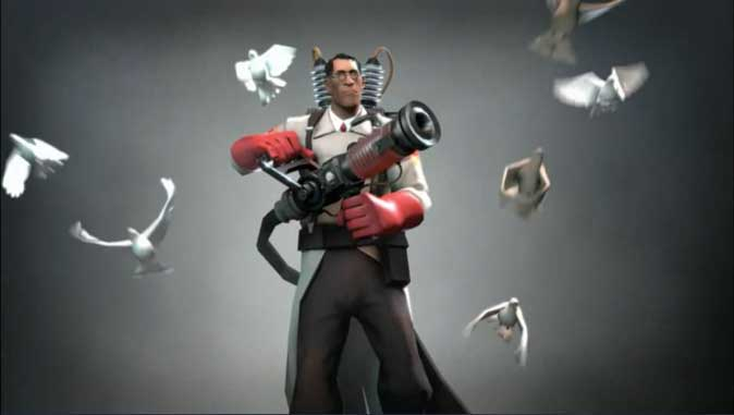 Team Fortress 2- Valve's super popular multiplayer game