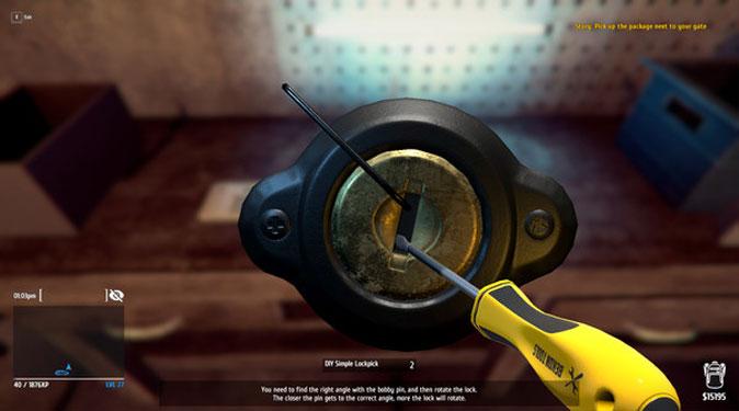 thief simulator gameplay on macOS using steam