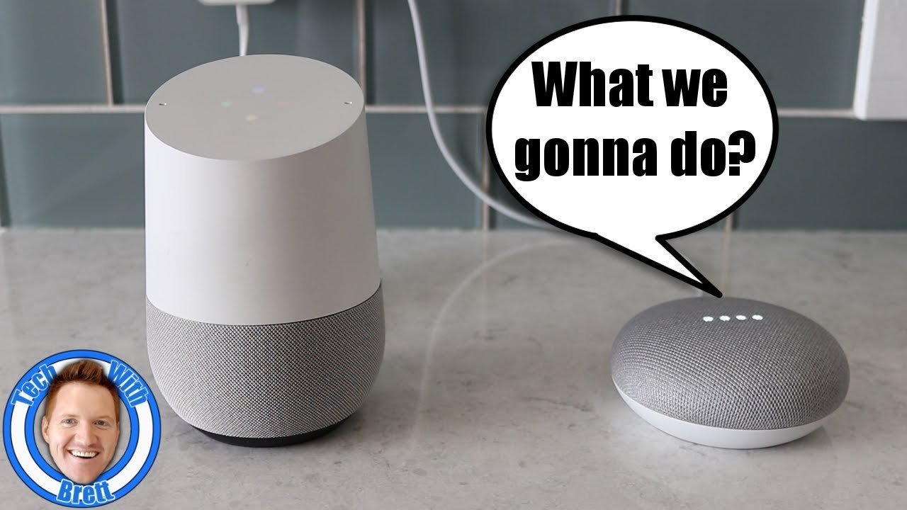 Google Home & Google Home Mini Talk to Each Other