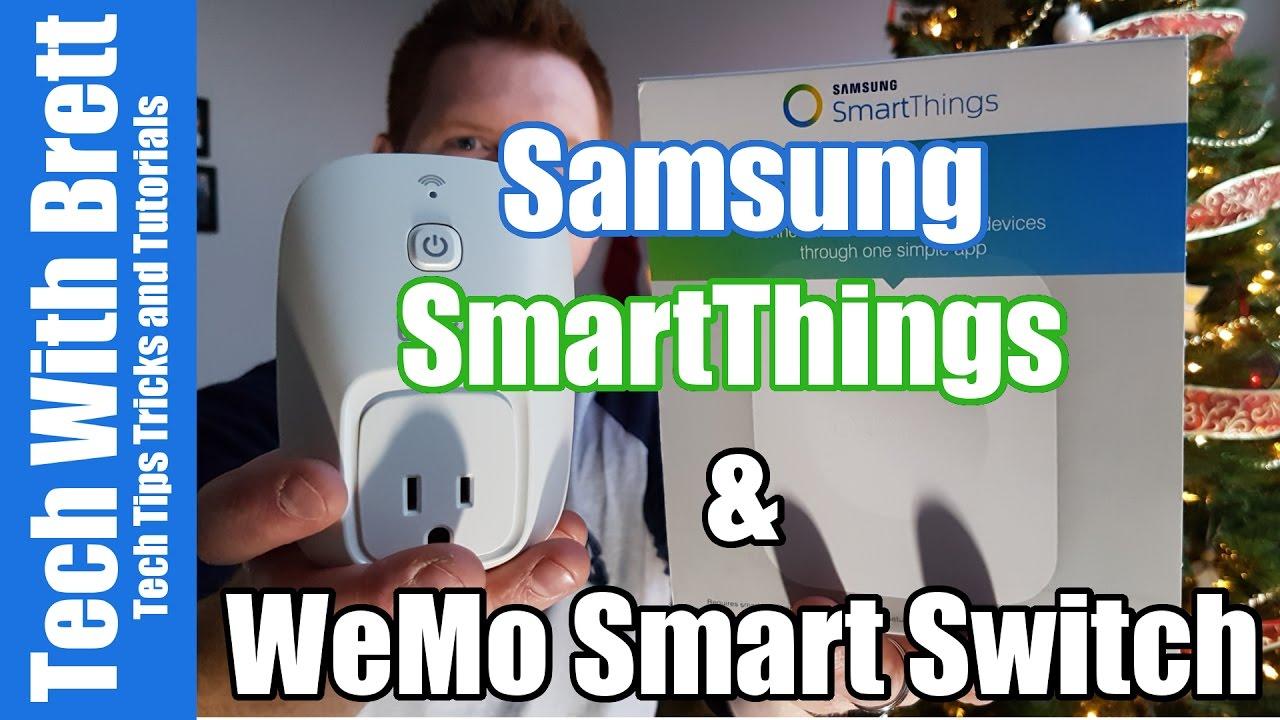 SmartThings Hub 2.0 Setup With WeMo Smart Switch Plug
