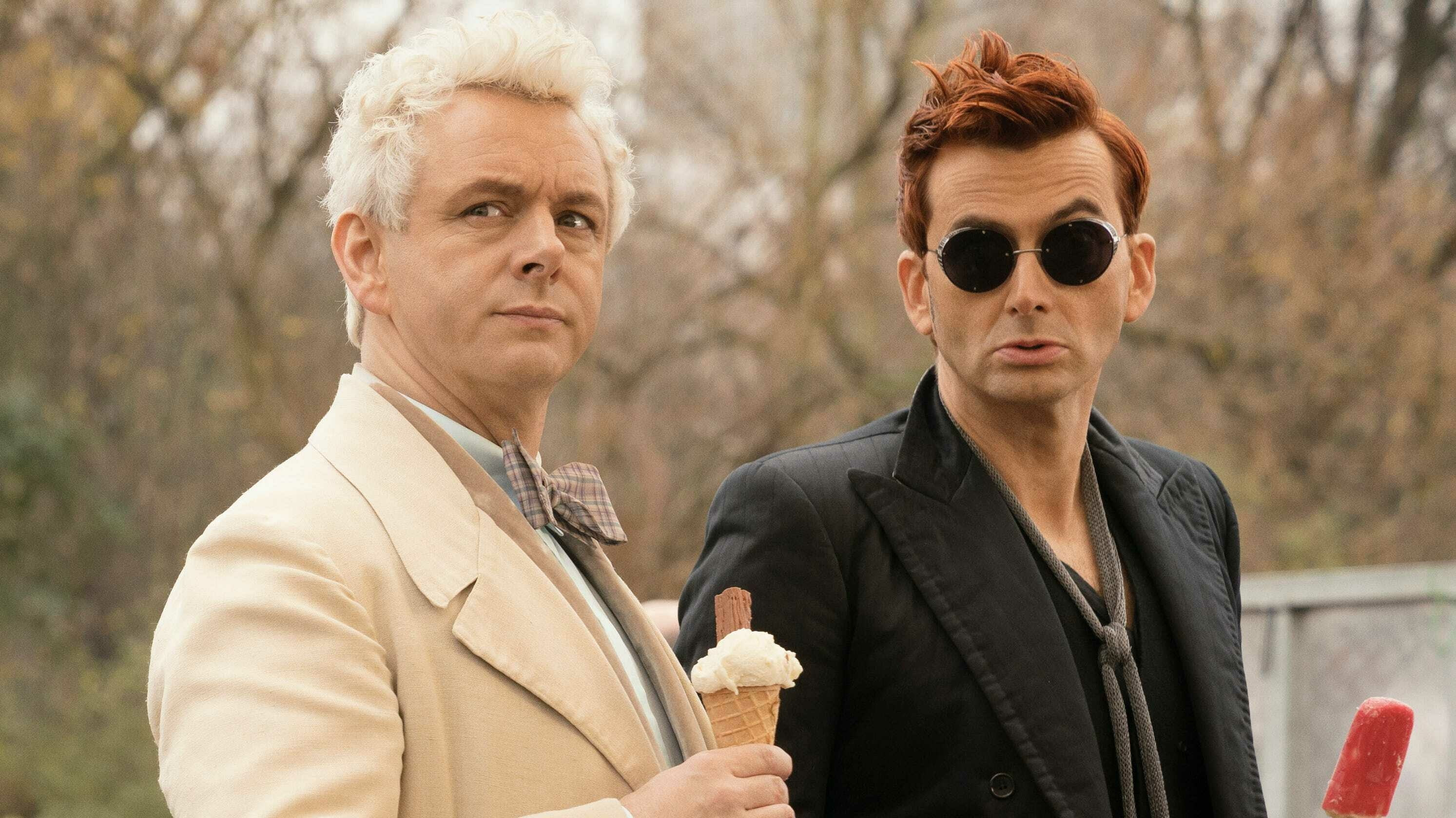 "After a petition from a Christian organization, Netflix jokingly promised not to release ""Good Omens"" from Amazon"