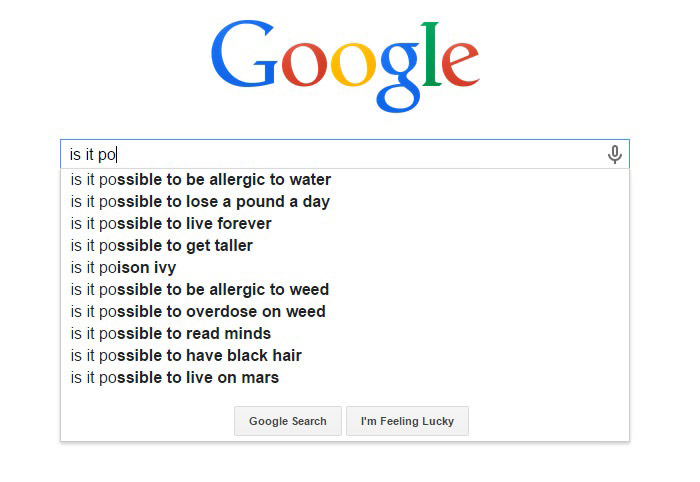 30 Most Hilarious Google Search Suggestions Ever 23