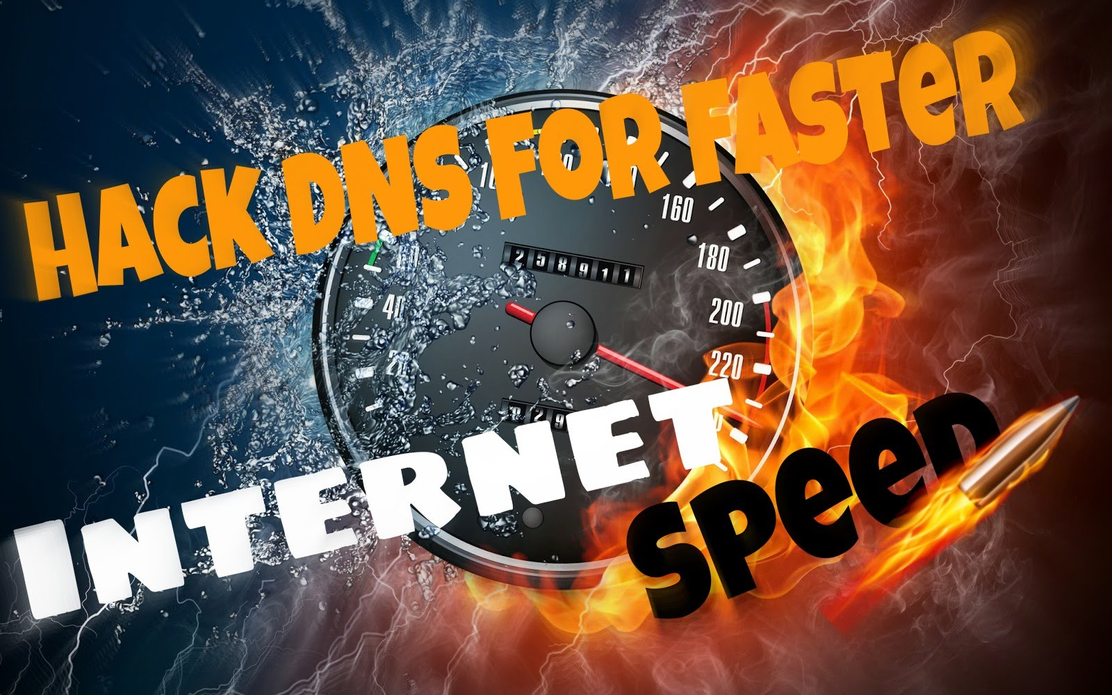 Hack DNS Server To Get Faster Internet speed