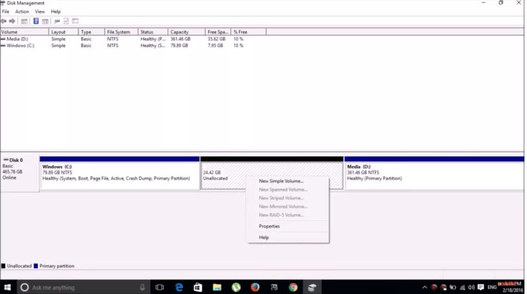 How TO Dual Boot Cub Linux On Windows 10 2