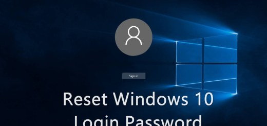 reset Windows password using CMD