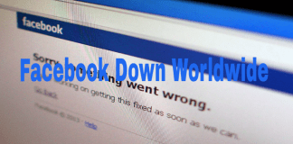 Facebook Down Worldwide