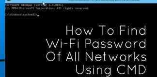 Find Wifi Password Of Connected Networks