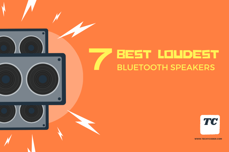 7 Best Loudest Bluetooth Speakers 2020 Techycoder