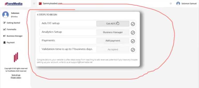 Complete Guide On How to setup Foremedia ads on WordPress and Blogspot