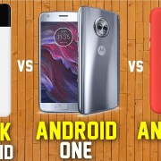 stock android vs android one