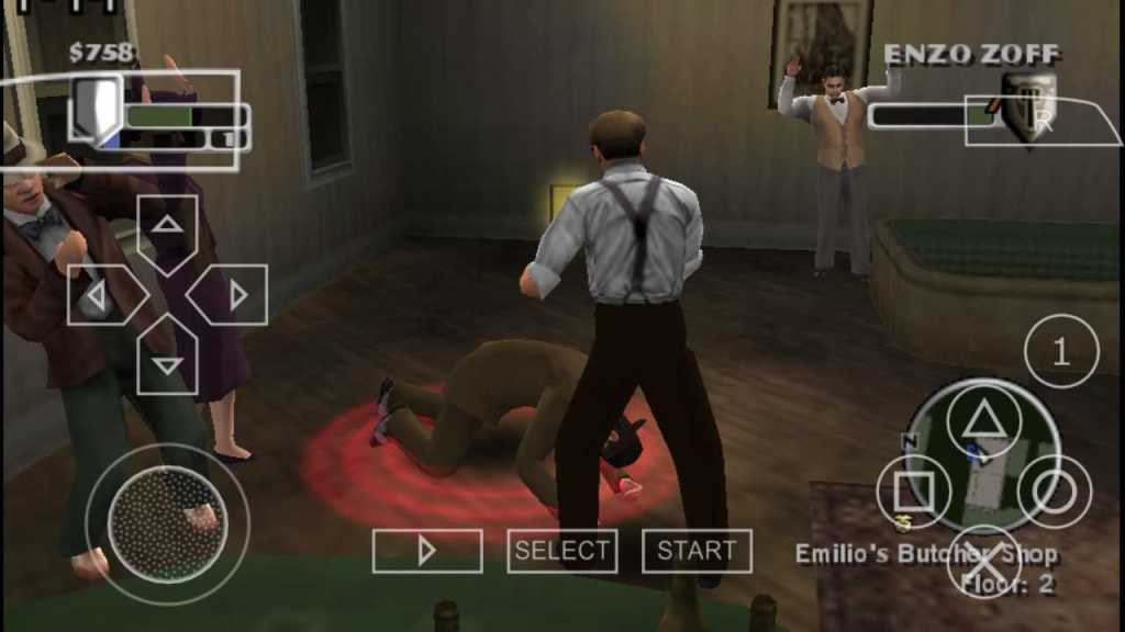 The Godfather: Mob Wars one of the best PPSSPP Games download on Android