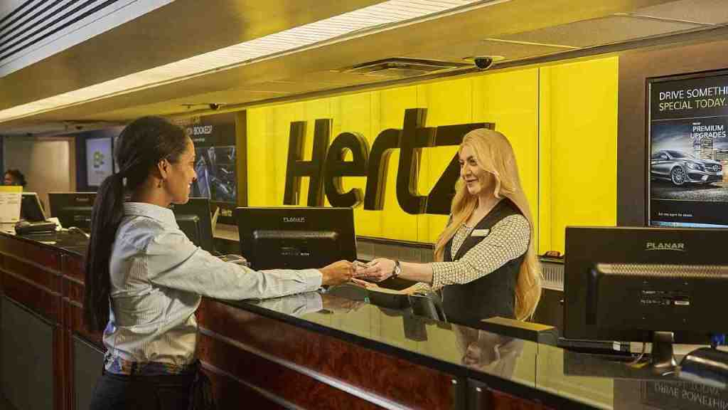 Hertz is another one of the best apps like Turo