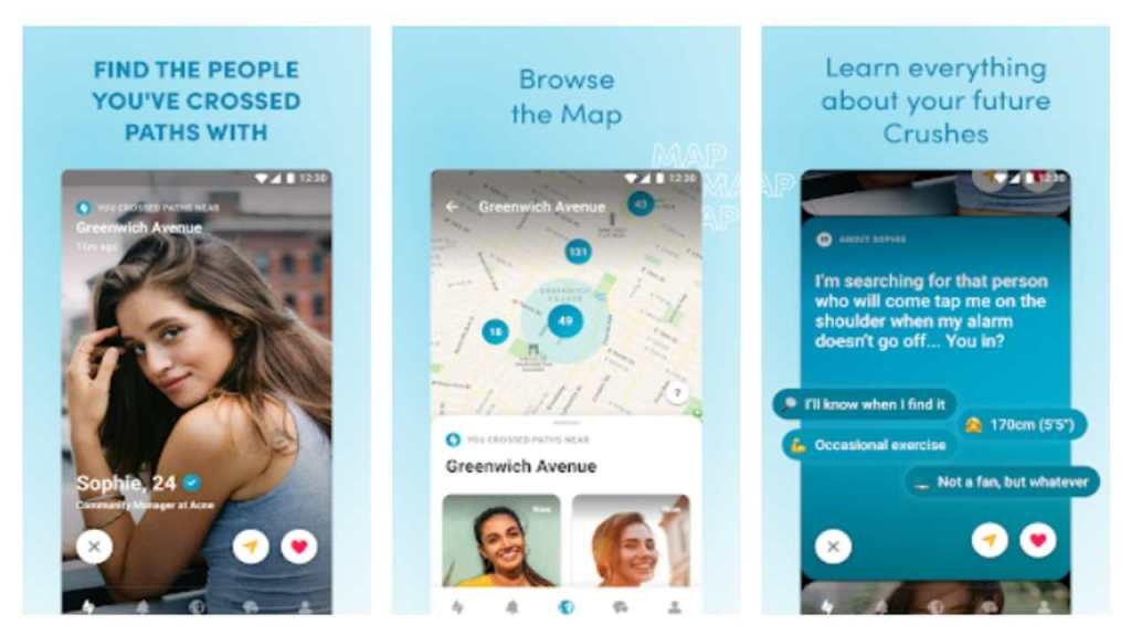 Happn is one of the best secret dating apps for android and iOS