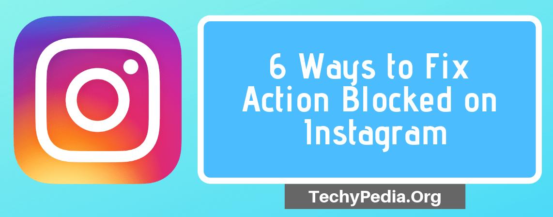 fix action blocked instagram