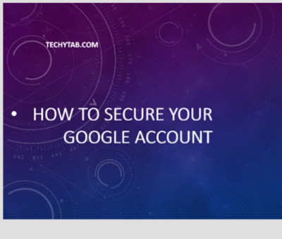 secure google account