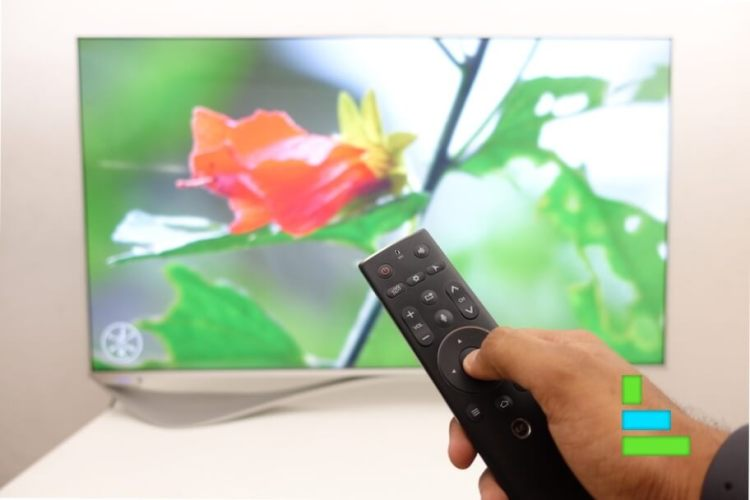 LeEco Super3 X55 Review - remote use