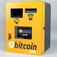 elvetienii au adăugat o funcționalitate nouă aparatelor, aceea de a cumpăra monede virtuale bitcoin, în schimbul francilor elvețieni