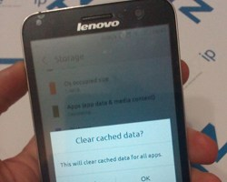 clear cache or data Android
